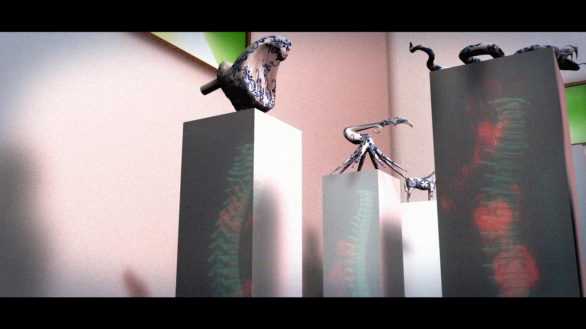 Maraschino Pedestals